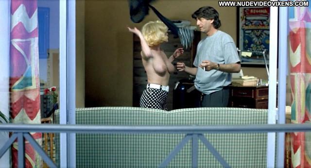 Anabel Alonso Kika Celebrity Posing Hot Big Tits Breasts Babe Sofa