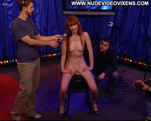 Justine Joli The Howard Stern Show Redhead Celebrity Skinny Medium