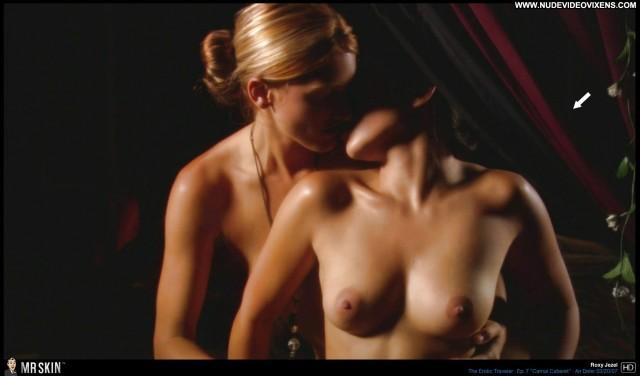 Roxy Jezel The Erotic Traveler Brunette Pornstar Sensual Medium Tits