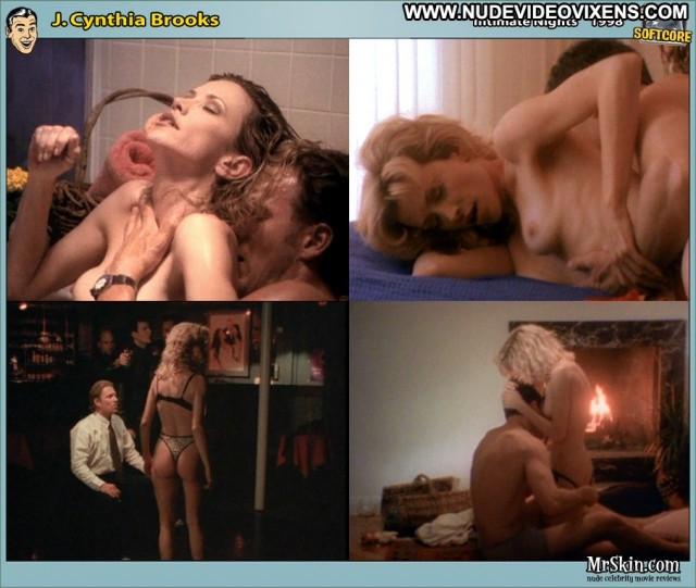 J Cynthia Brooks Intimate Nights Blonde Sexy Posing Hot Medium Tits