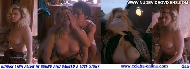 Ginger Lynn Allen Bound And Gagged Celebrity Nice Blonde Sultry Video