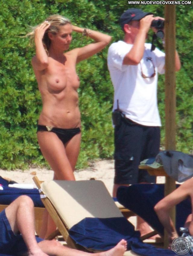 Heidi Klum Beach Babes Celebrity Skinny Sensual Blonde International