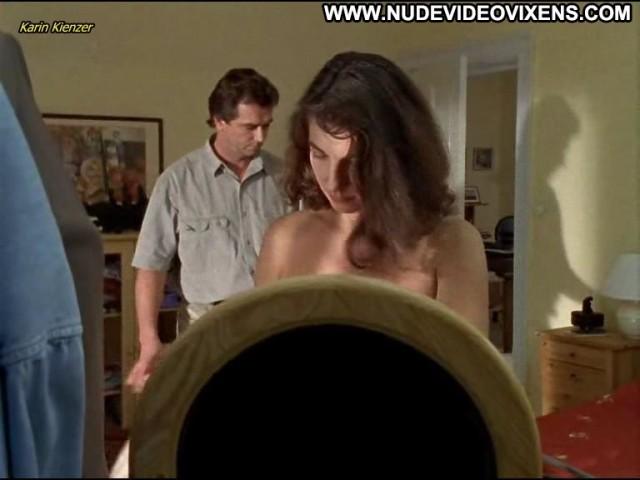 Karin Kienzer Unser Charly Celebrity Posing Hot Brunette Sexy