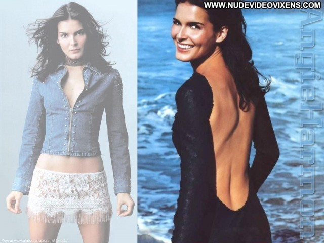 Angie Harmon Miscellaneous Sultry Brunette Hot Sexy Medium Tits
