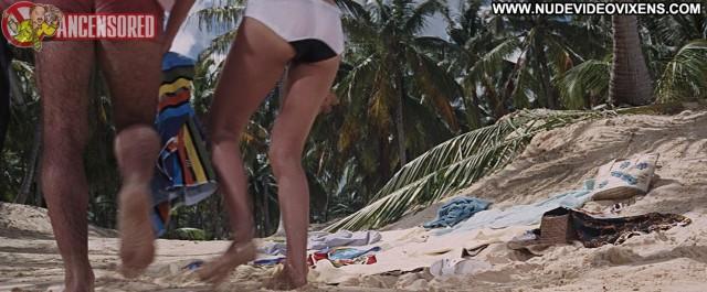 Claudine Auger Thunderball Medium Tits Sensual Celebrity Brunette