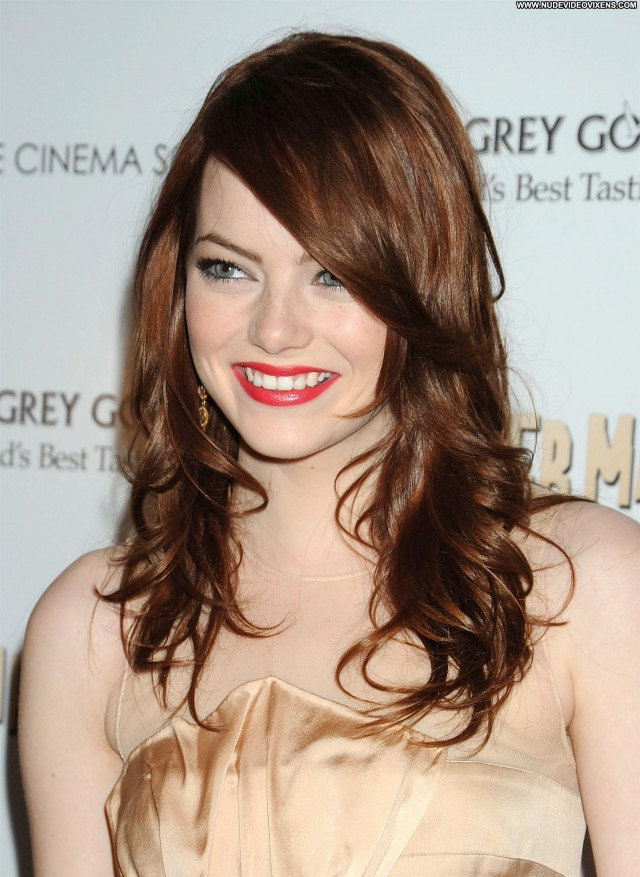 Emma Stone West Hollywood Gorgeous Sultry Celebrity Posing Hot Cute