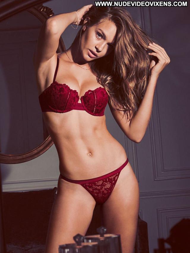 Josephine Skriver No Source Lingerie Posing Hot Celebrity Babe
