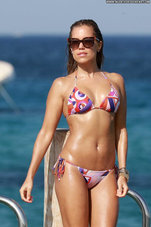 Sylvie Meis No Source Posing Hot Candids Bikini Celebrity Babe