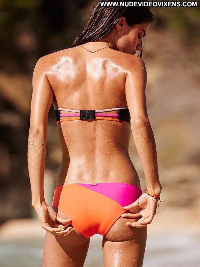 Sara Sampaio No Source  Photoshoot Posing Hot Bikini Babe Celebrity