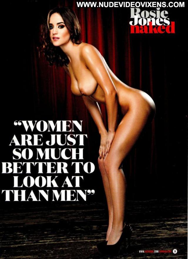 Rosie Jones Zoo Magazine Posing Hot Babe Nude Beautiful Magazine