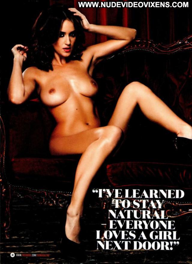 Rosie Jones Zoo Magazine Photoshoot Posing Hot Beautiful Magazine