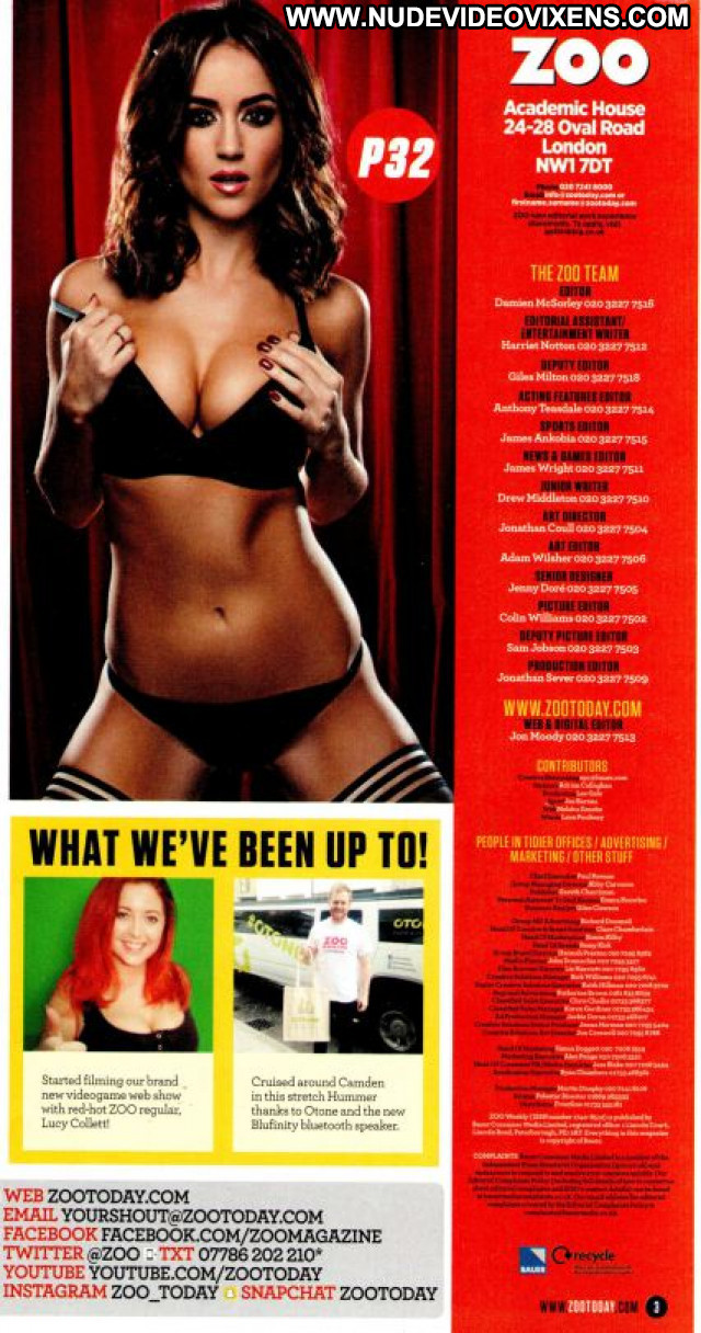Rosie Jones Zoo Magazine Photoshoot Posing Hot Nude Celebrity