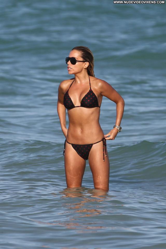 Sylvie Van Der Vaart The Beach Posing Hot Beach Babe Beautiful