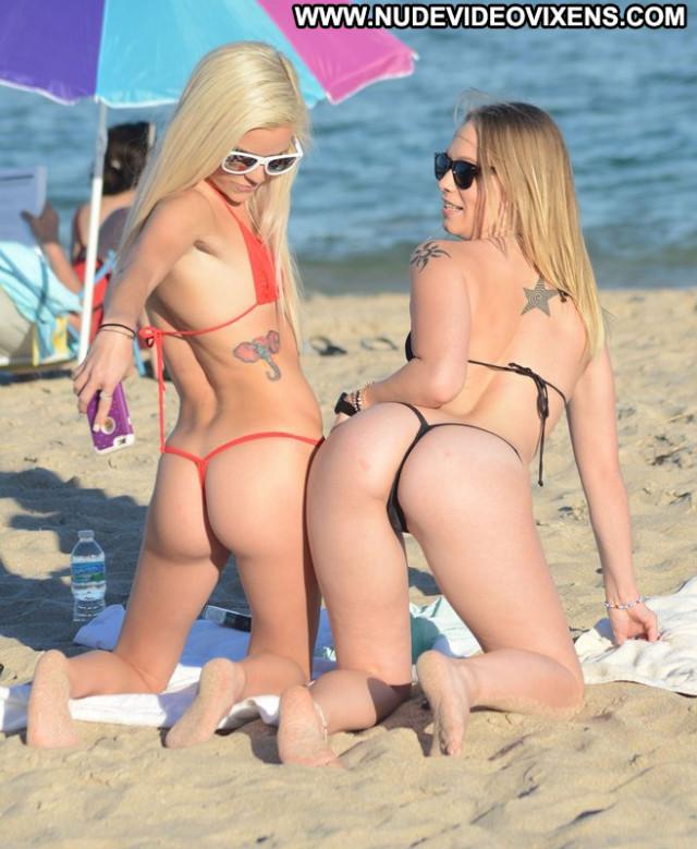 Halle Von The Beach  Celebrity Usa Beautiful Hot Porn Babe Beach