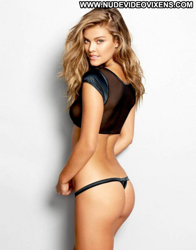Nina Agdal No Source Posing Hot Babe Celebrity Beautiful Lingerie