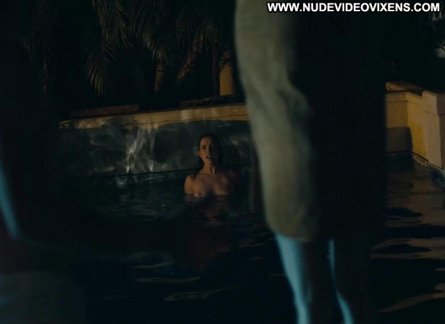 Marguerite Moreau As The  Topless Beautiful Pool Wet Nude Posing Hot