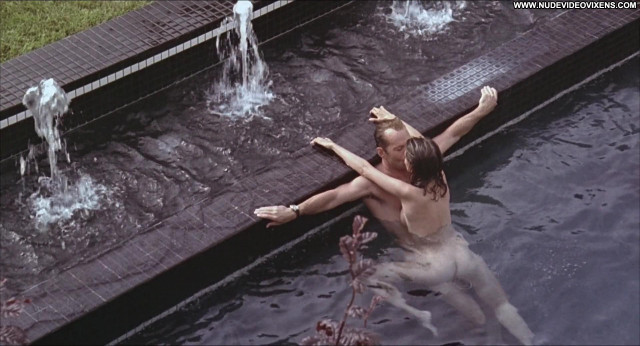 Jane March Vera Celebrity Swimming Pool Couple Sexy Scene British
