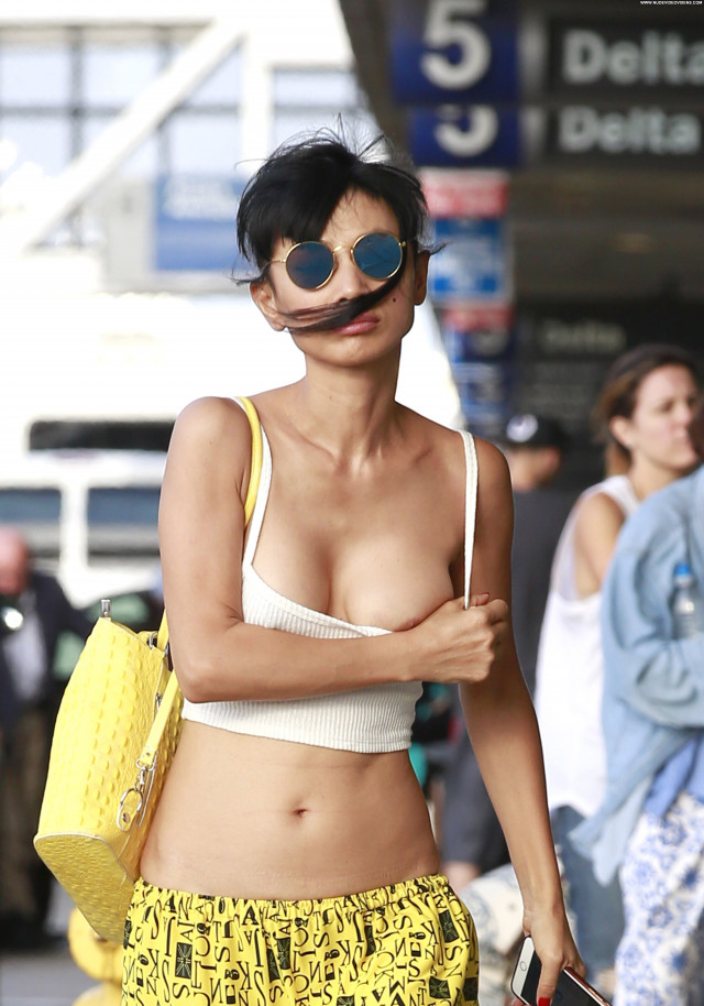 Bai Ling No Source Braless Beautiful Perfect Chinese American Posing
