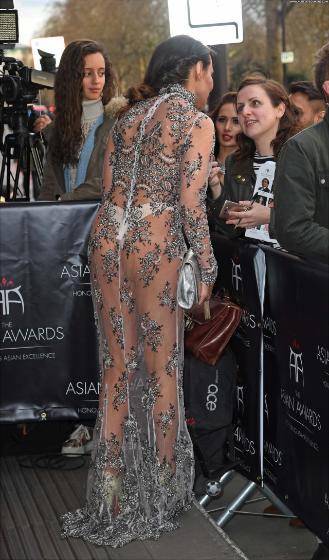 Lizzie Cundy No Source Fashion Awards Posing Hot Sexy See Through