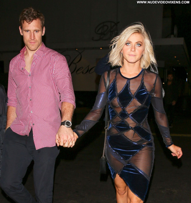 Julianne Hough No Source Celebrity Nipple Slip See Through Babe