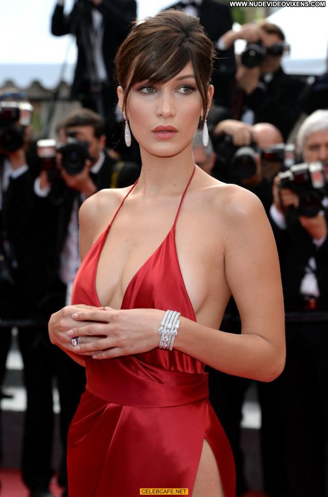 Bella Hadid Cannes Film Festival Sex Beautiful Sexy Celebrity Posing