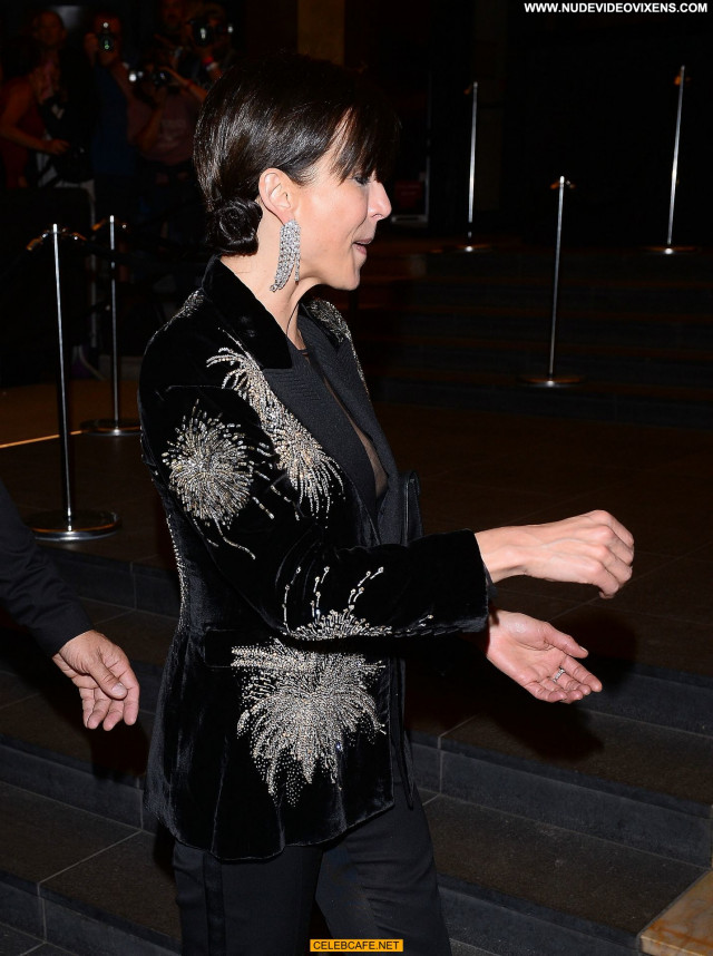 Sophie Marceau Cannes Film Festival Babe Areola Slip Beautiful Posing