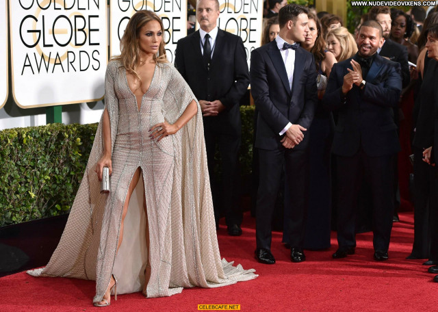 Jennifer Lopez Golden Globe Awards Cleavage Celebrity Sex Sexy Awards