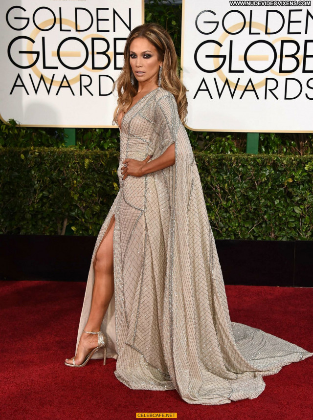 Jennifer Lopez Golden Globe Awards Cleavage Awards Celebrity Sexy Sex
