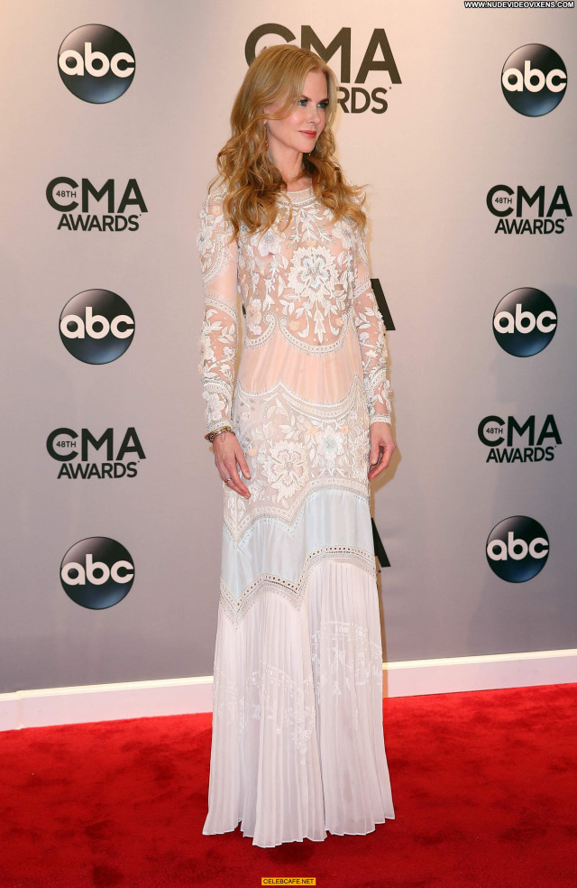 Nicole Kidman Cma Awards Awards Posing Hot See Through Celebrity