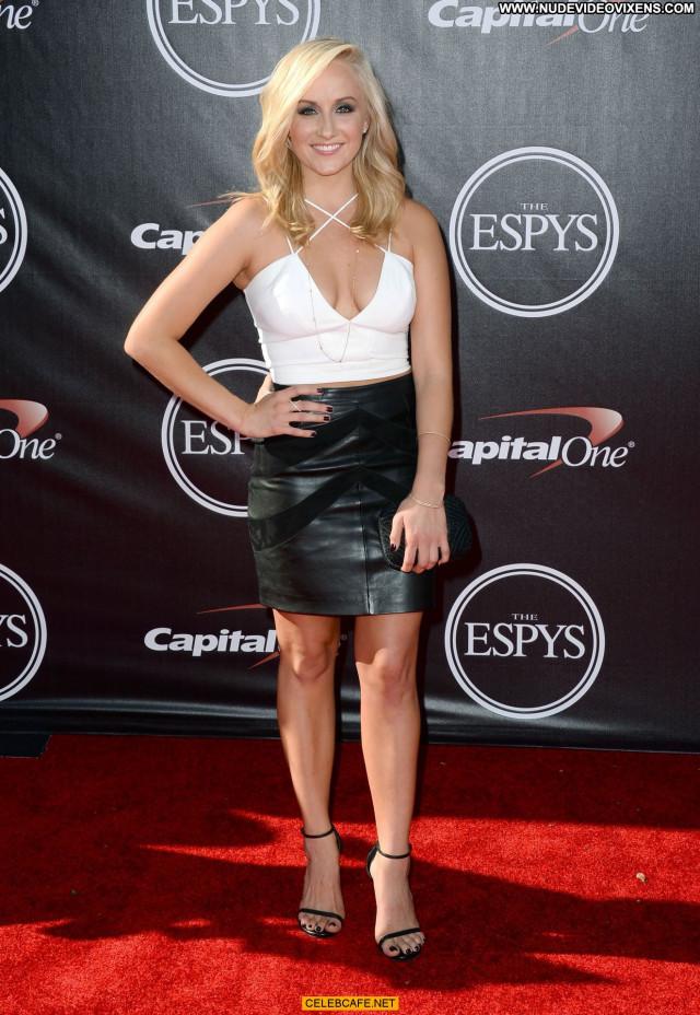 Nastia Liukin Espy Awards Posing Hot Beautiful Legs Cleavage Babe