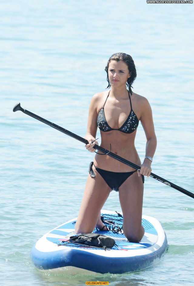 Lucy Mecklenburgh No Source Beautiful Celebrity Bikini Black Babe