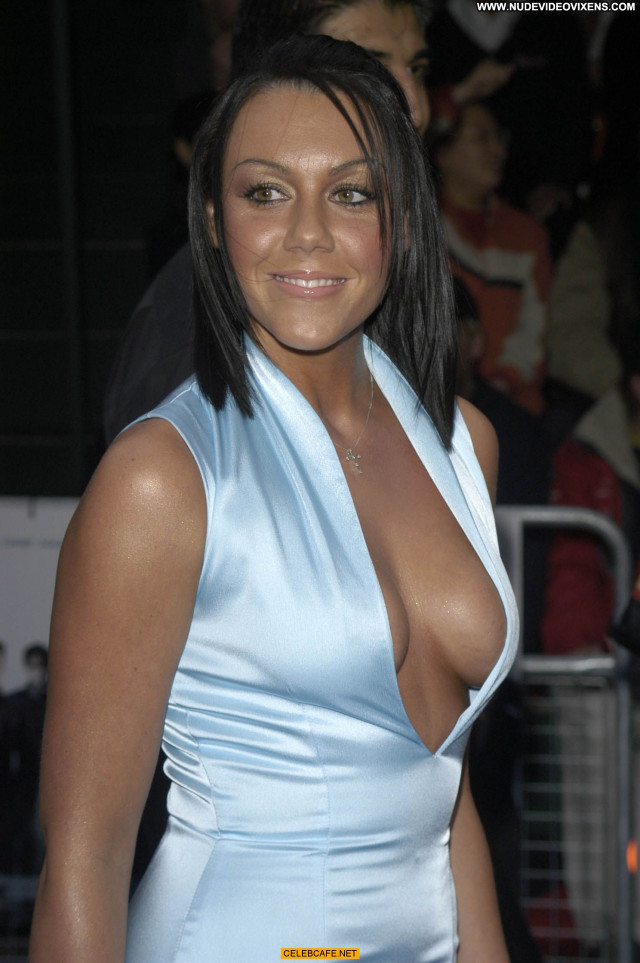 Michelle Heaton No Source Legs Beautiful Babe Celebrity Cleavage