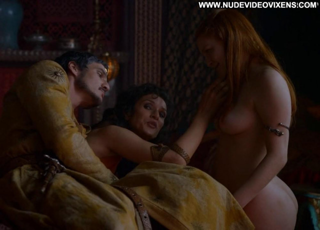 Josephine Gillan Game Of Thrones Babe Posing Hot Breasts Full Frontal