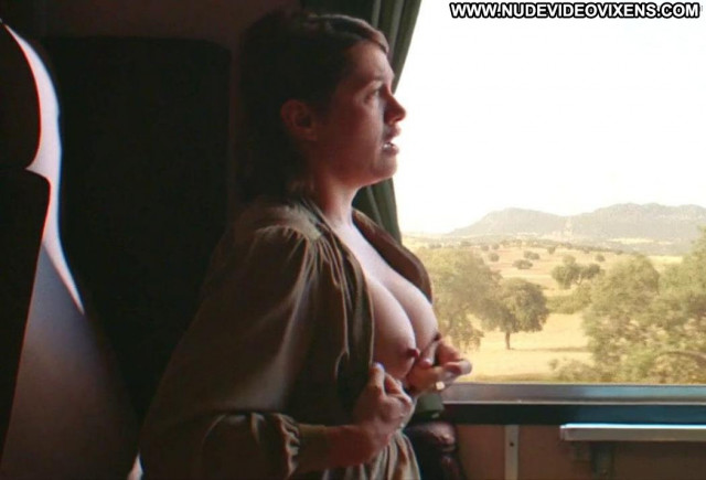 Emma De Caunes No Source Topless Posing Hot Shirt Lactating Breasts