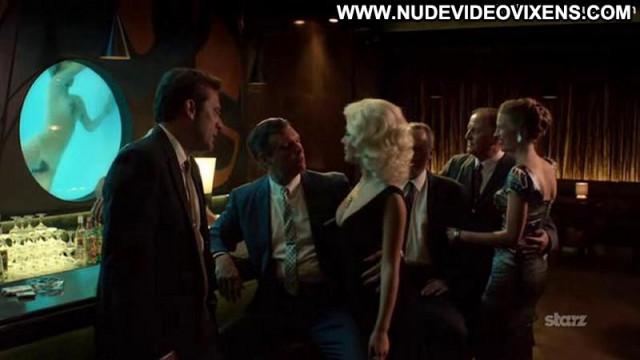Elena Satine Magic City Celebrity Topless Straight Bar Beautiful Babe