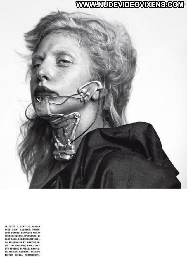 Lady Gaga Vogue Magazine Posing Hot Italy Babe Gag Photo Shoot Big