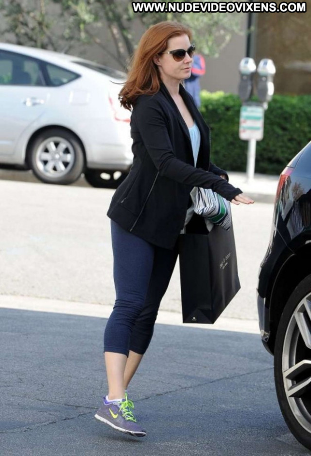 Amy Adams West Hollywood Shopping Posing Hot Babe Hollywood Celebrity