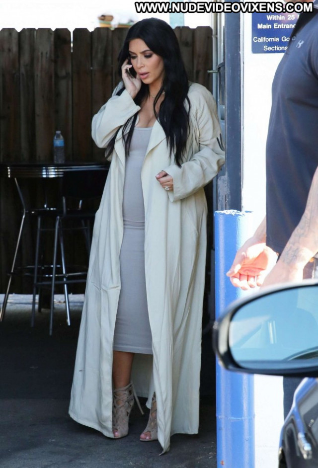Kim Kardashian Paparazzi Beautiful Posing Hot Celebrity Babe Doll