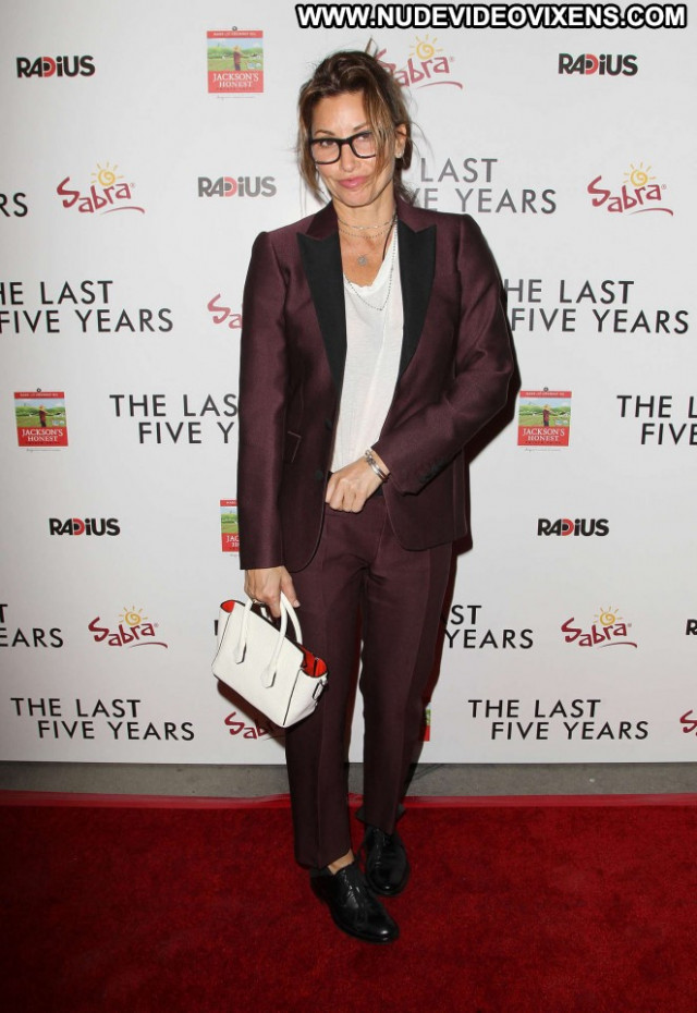 Gina Gershon The Last Five Years Babe Celebrity Beautiful Posing Hot