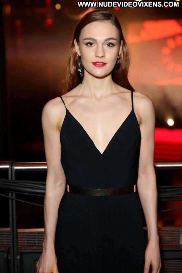 Sophie Skelton No Source Celebrity Awards Paparazzi Beautiful London