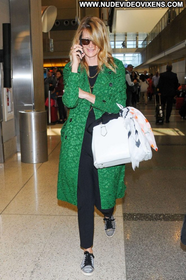 Laura Dern Lax Airport Beautiful Lax Airport Angel Celebrity Posing