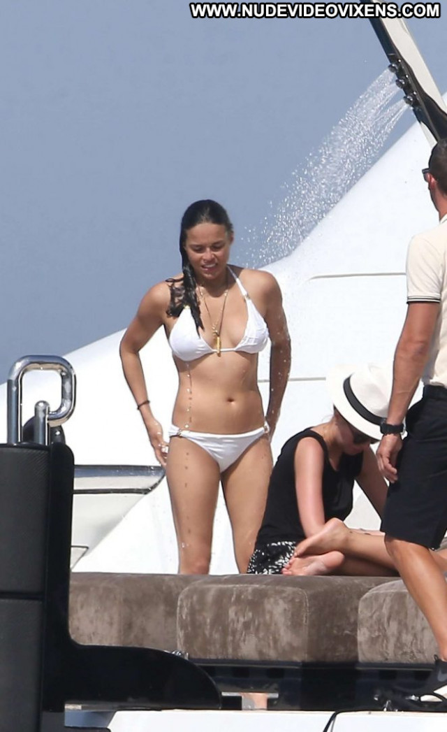 Michelle Rodriguez No Source Posing Hot Babe Paparazzi Bikini