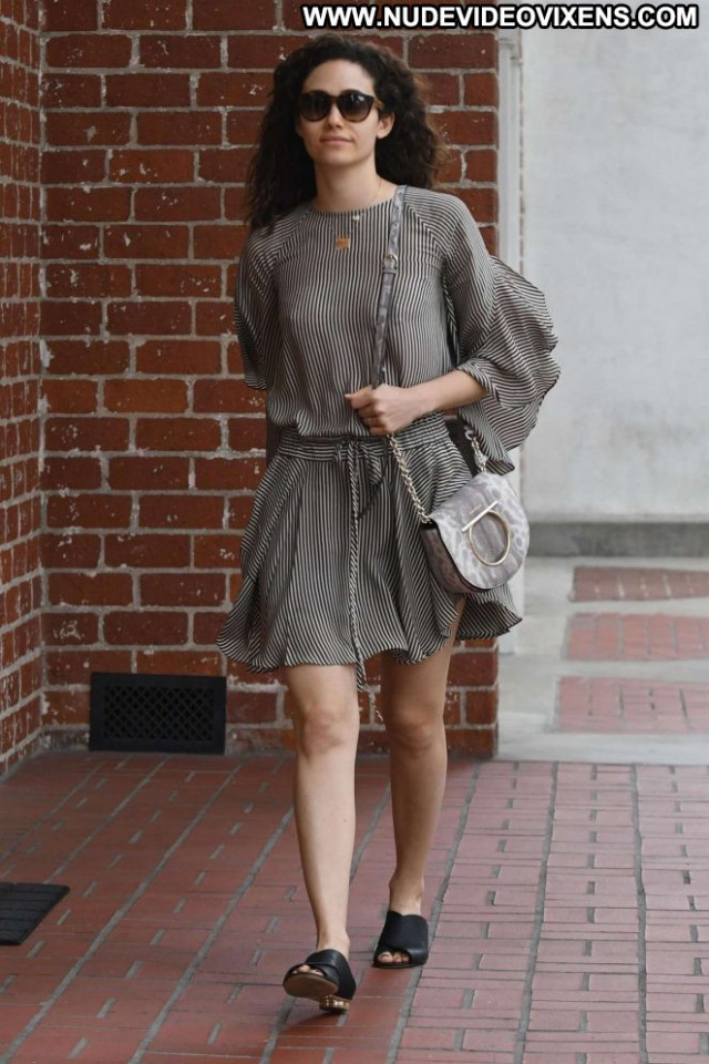 Emmy Rossum Beverly Hills Babe Paparazzi Beautiful Medical Posing Hot
