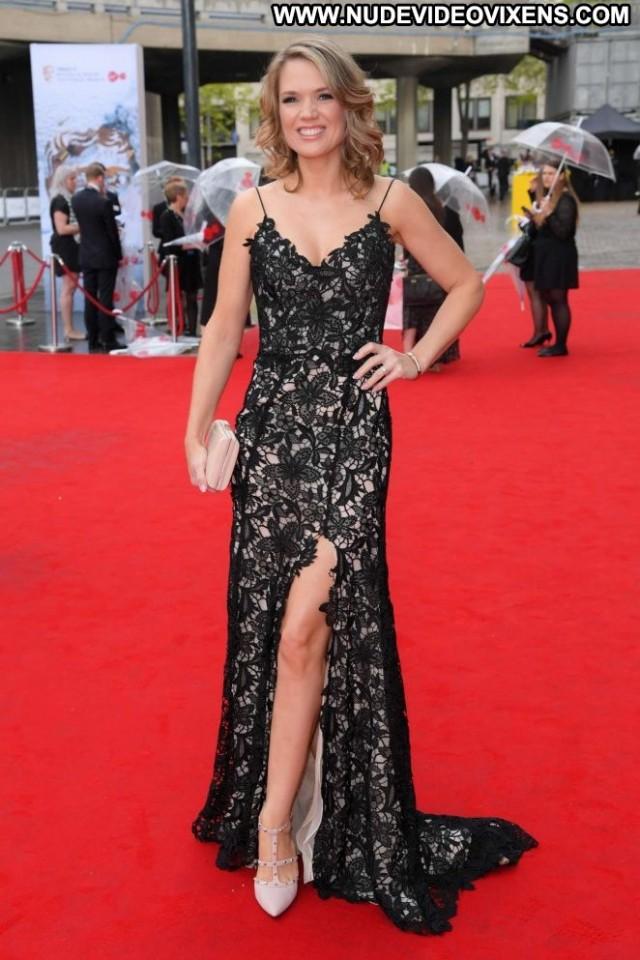 Charlotte Hawkins No Source Paparazzi Babe Celebrity British London