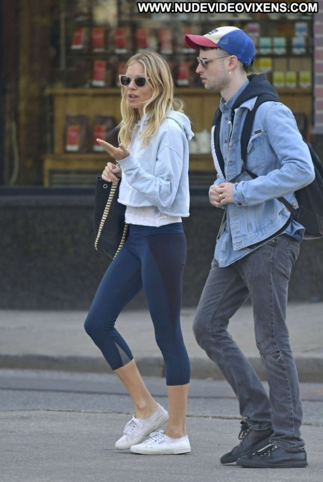Sienna Miller New York  Beautiful New York Posing Hot Babe Celebrity