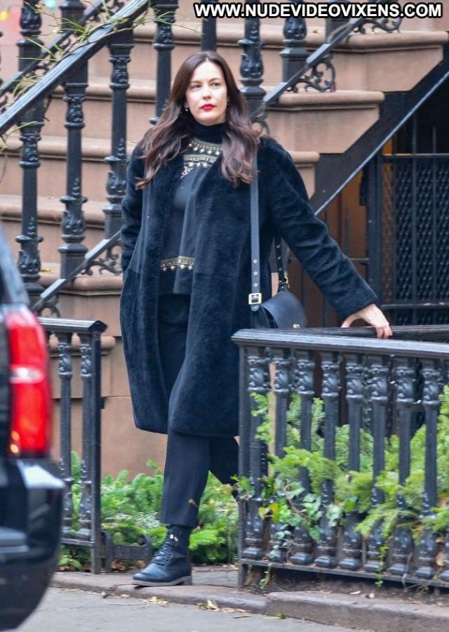 Liv Tyler New York Beautiful Posing Hot New York Celebrity Paparazzi