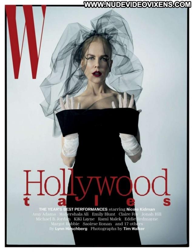 Nicole Kidman W Magazine  Magazine Posing Hot Babe Paparazzi