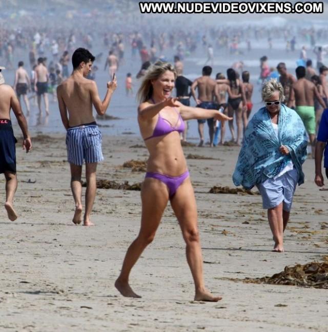 Bikini Malibu Beach Celebrity Malibu Posing Hot Paparazzi Babe Bikini