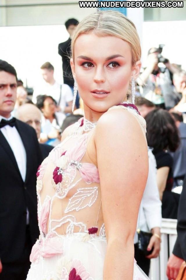 Tallia Storm Cannes Film Festival Celebrity Babe Beautiful Posing Hot