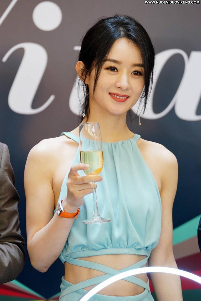 Zhao Liying No Source Beautiful Paparazzi Posing Hot Babe Celebrity